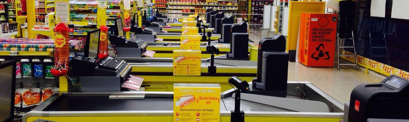Sectores de negocio Telsystem: Supermercados