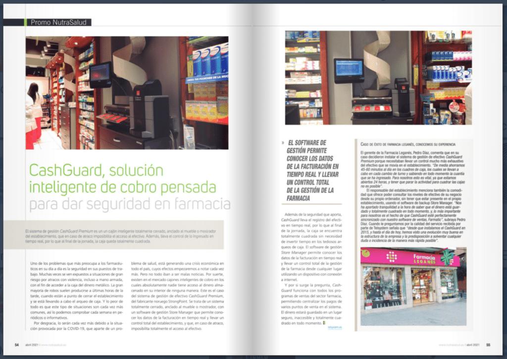 CashGuard en Farmacia | Revista NutraSalud
