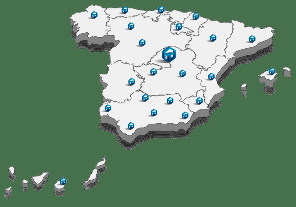 Telsystem Distribución mAPA